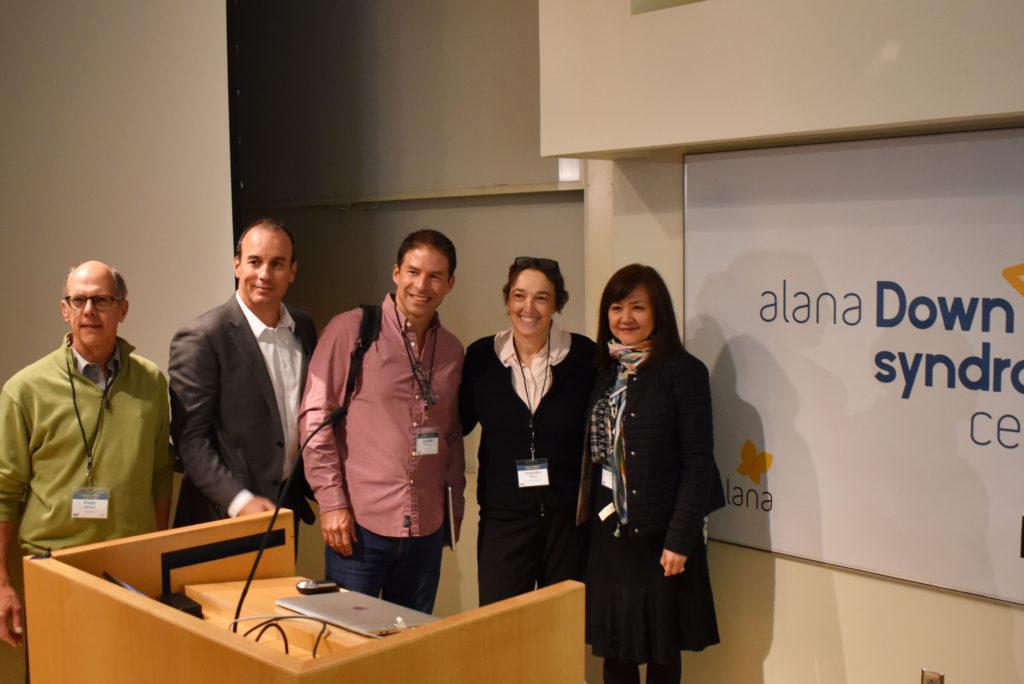 Professors Reeves, Espinosa, Torres, Amon & Tsai pose for the camera